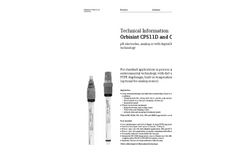 Orbisint CPS11D and CPS11 - Technical Information