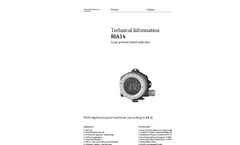 RIA14 Loop-Powered Field Indicator - Technical Information