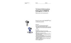 Deltapilot S FMB70 Hydrostatic Level Measurement - Technical Information