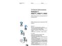 Deltabar S PMD75, FMD77, FMD78 Differential Pressure Measurement and Pressure Measurement - Technical Information