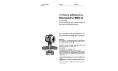 Micropilot S FMR532 Level-Radar Transmitter - Technical Information