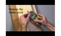 Mmd4E - Pin-Type Lcd Moisture Meter Video