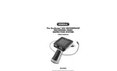 Model DCS665 - Waterproof Recording Video Inspection Camera/Borescope with 5.5mm Probe Brochure