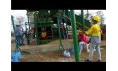Hellobaler Hydraulic Press Horizontal Baler in Philippine plant Video