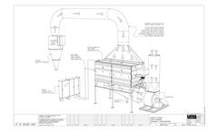 3D Flow Diagram-Bag House Pre-Treatment