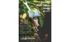 CID CI-110 Plant Canopy Imager - Brochure