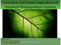 Innovative and Classic Applications of Handheld Photosynthesis Systems - Brochure
