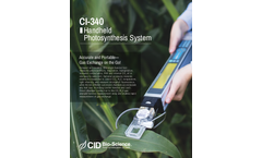 CID CI-340 Handheld Photosynthesis System - Brochure
