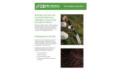 Root Imaging in Agriculture - Brochure