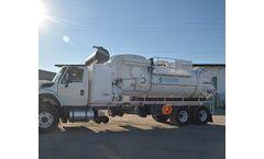 Model CAM - Vacuum Cleaning Truck