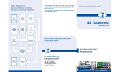 Potash and Raw Salt Treatment - Brochure