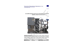 Electric Catalytic Oxidizer With Rotary C Aw General Specification Data Brochure
