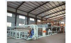 Junsheng - Model JS-TGM - Plastic Geomembrane Net Production Line Machine