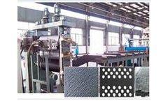 Junsheng - Model JS-TGGS - Plastic Geocell Production Line Machine