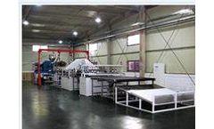 Junsheng - Model JS-PSD - PVC Spinneret Carpet Production Line Machine