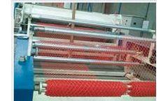 Junsheng - Model JS-PN - Plastic Geonet Production Line Machine