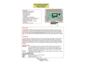 Model FM-9ABNI - Pet or Iodine Air Monitor Gas and Particulate - Datasheet