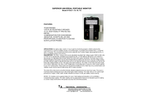 Model PUG-7 /7A /7E /7U - Superior Universal Portable Monitor - Datasheet