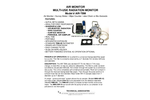 AIR-TBM, Multi-use Air Monitor - Specification Sheet