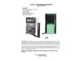 TBM-3SRD Portable Digital Survey Meter - Specification Sheet