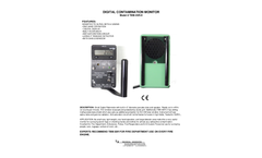 TBM-3SRD Portable Digital Survey Meter - Specification Sheet
