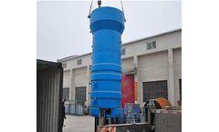 Power Komet 2200 - HDPE Plastics - Video