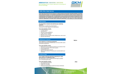 GKM - After-Sales Services - Brochure