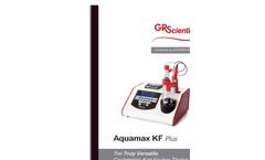 Aquamax - Model KF Plus - Coulometric Karl Fischer Titrator Brochure