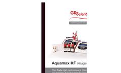 Aquamax - Model KF - Coulometric Karl Fischer Reagent Brochure
