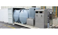 Green MBR - Modular and Transportable Civil Wastewater Treatment Plant