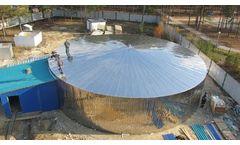 Iceberg - Stainless steel modular bolted water storage tank