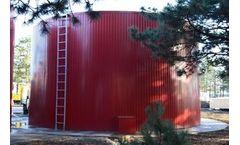 Rainwater, stormwater harvesting storage tank