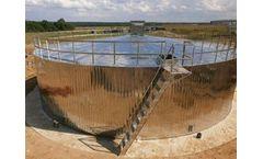 Stainless steel potable (drinking) water tank