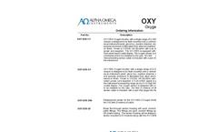 OXY-SEN Oxygen Monitor Product Configurator