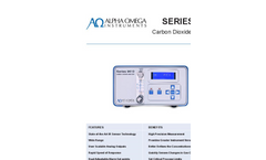 AOI - Model Series 9610 - Carbon Dioxide Monitor - Data Sheet
