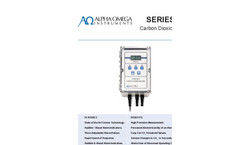 AOI - Model Series 9510 - Carbon Dioxide Monitor - Data Sheet