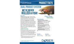 Dober HaloKlear - Model DPS - Dual Polymer System - Brochure