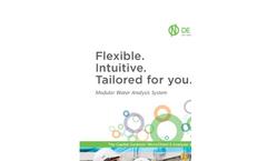 Capital Controls MicroChem - Model 3 - Analyzer & Controller System - Brochure