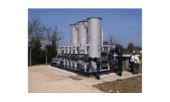 TETRA DeepBed - Model MDBF - Skid-Mounted Deep Bed water Filtration System