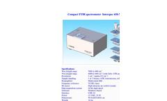 Interspec - Model 650-X - Compact FTIR Spectrometer Brochure