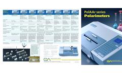 Model PolAAr Series - Polarimeters Brochure