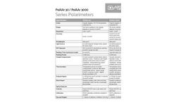 PolAAr 30-3000 - Polarimeters - Technical Specifications
