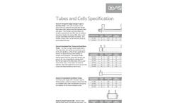 Polarimeter Tubes and Sample Cells - Datasheet