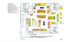 12th International Electronics Recycling Congress IERC 2013 – Floor Plan