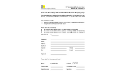11th International Electronics Recycling Congress IERC 2012 - Order Form