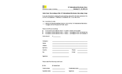 IERC 2015 Order Form Proceedings