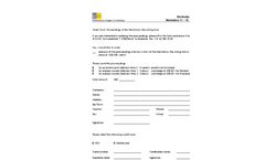 WRF 2014 Order Form Proceedings