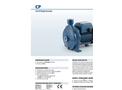 Pedrollo - Model CP 0.25-2.2 kW - Centrifugal Pumps