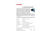 McPherson - Model 275D - Dedicated Double Grating Monochromator - Data Sheet