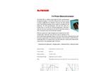 McPherson - Model 303 - 250mm Prism Imaging Monochromator - Brochure